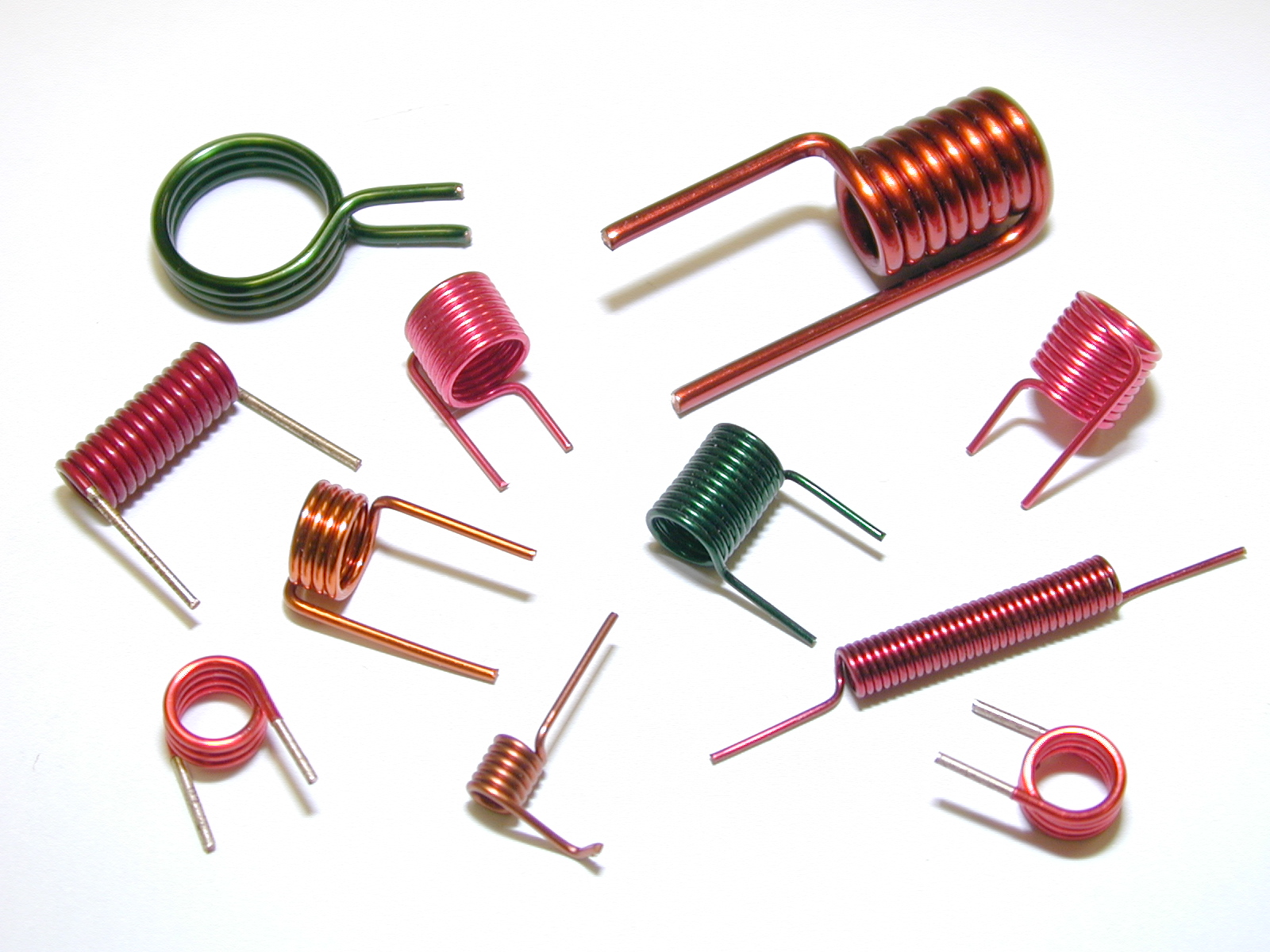Air Wound Coils Rowley Spring And Stamping Corp Use Of Inductor In A Circuit Also Known As Core Are Type That Do Not Magnetic Composed Ferromagnetic Material