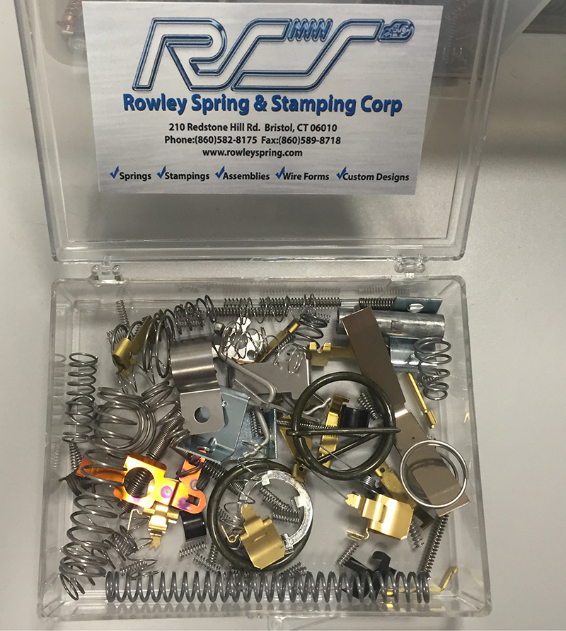 Sample Kit | Rowley Spring and Stamping Corp