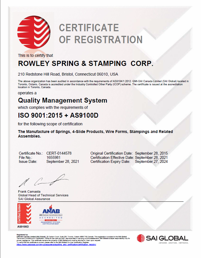 ISO cert picture